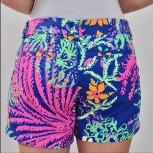 Lilly Pulitzer Callahan shorts. Size 2